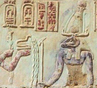 Sculpture Of God Khnum-fg811