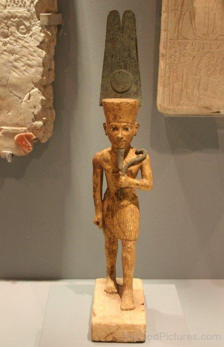 Statue Of Amun Hildesheim