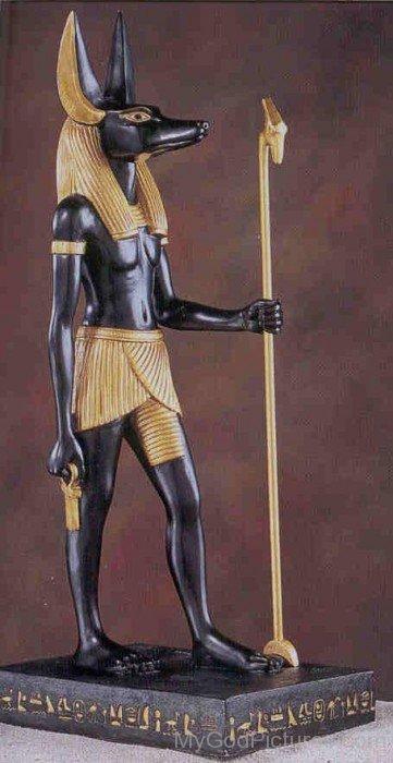 Statue Of Anubis-lam729