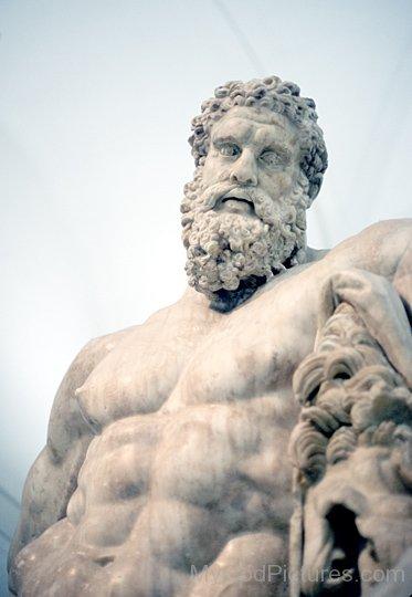 Statue Of God Hercules