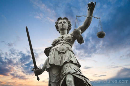 Statue Of Goddess Justice