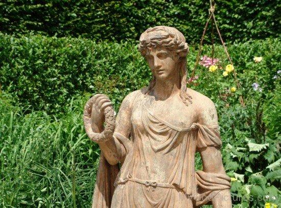 Terracotta Statue Of Flora