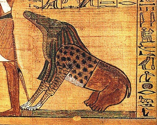 The Egyption Goddess Ammit