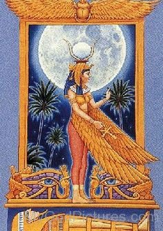 The Goddess Isis-jk825