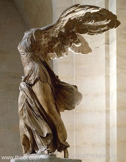 The Winged Goddess Of Victory