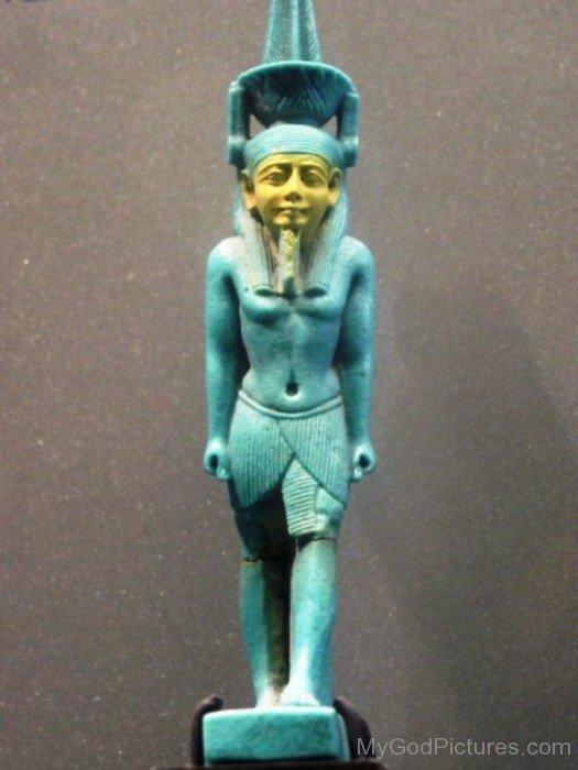 God Nefertem Statue-dc204