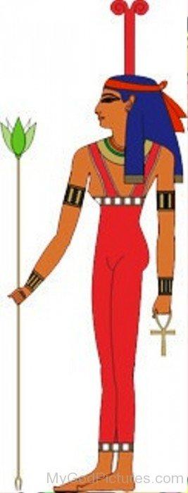 Goddess Meskhenet Picture-lk84