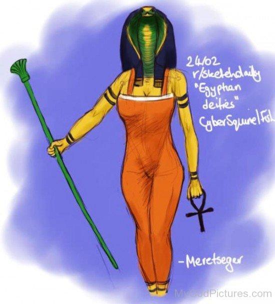 Meretseger Goddess-ty604