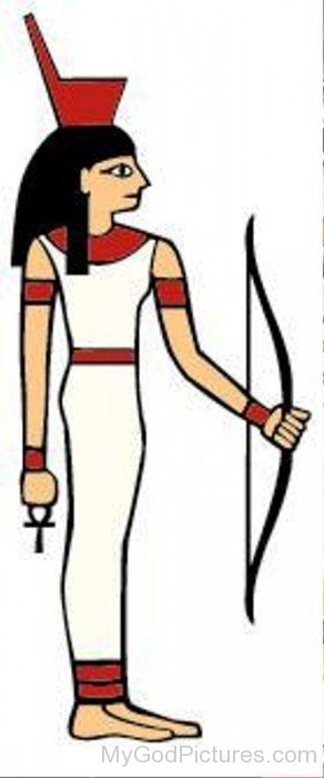 Neith With Her Bow