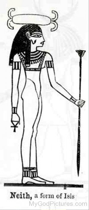 Neith,A Form Of Isis