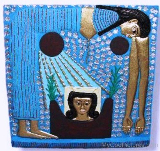 Sculpture Of Goddess Nut-yt525