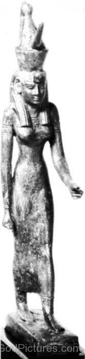 Statue Of Goddess Mut-gh611