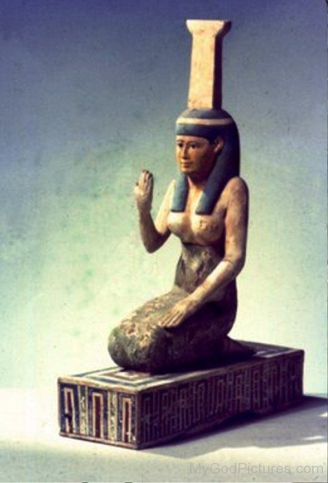 Statue Of Goddess Nephthys-li821