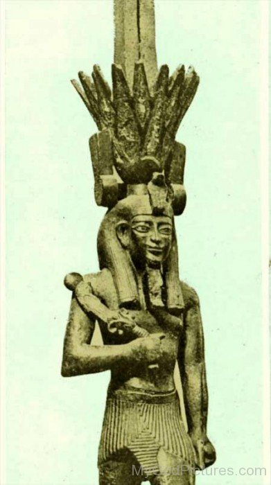 Statue Of Nefertem