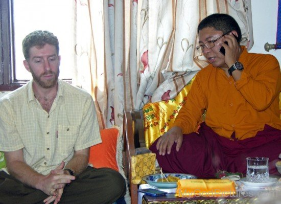 Tsoknyi Rinpoche And Adam Kane