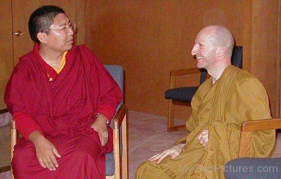Tsoknyi Rinpoche And Ajahn Amaro
