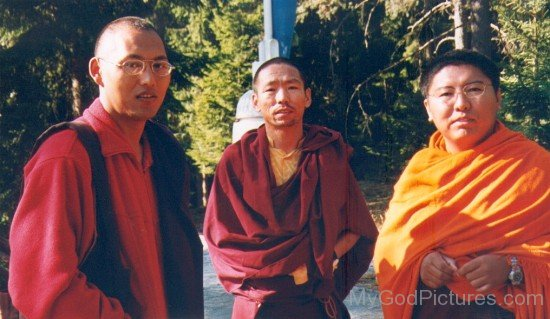 Tsoknyi Rinpoche And Lama Changchub