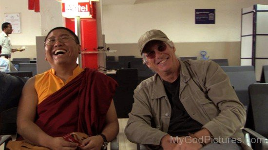 Tsoknyi Rinpoche And Richard Gere