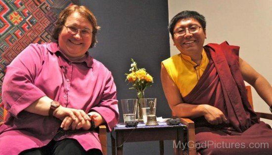 Tsoknyi Rinpoche And Sharon Salzberg