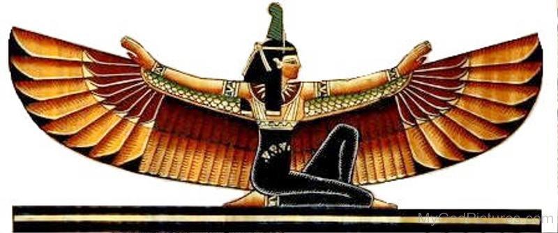 egyptian winged goddess - photo #1