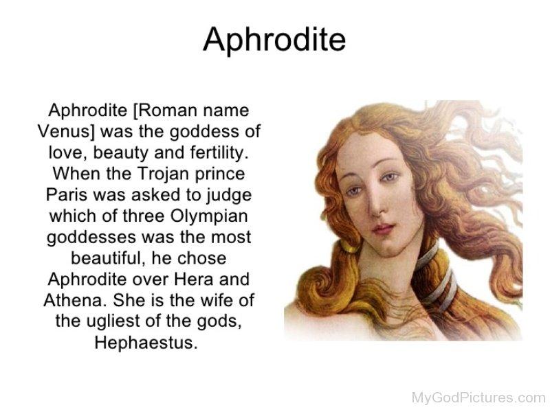 aphrodite goddess facts - 800×600