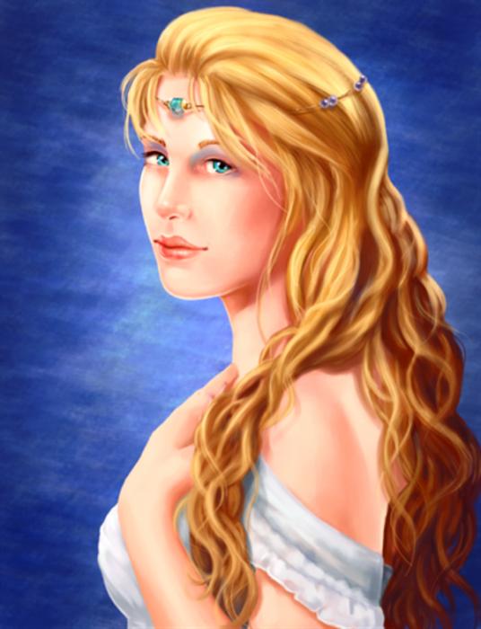 Aphrodite Goddess-wd403