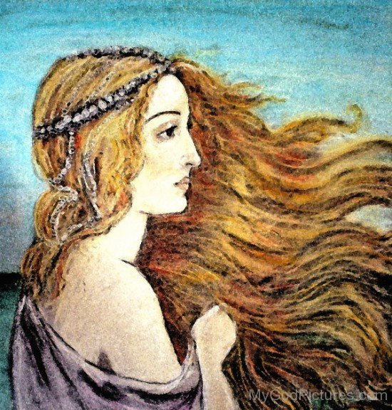 Aphrodite Painting-wd405