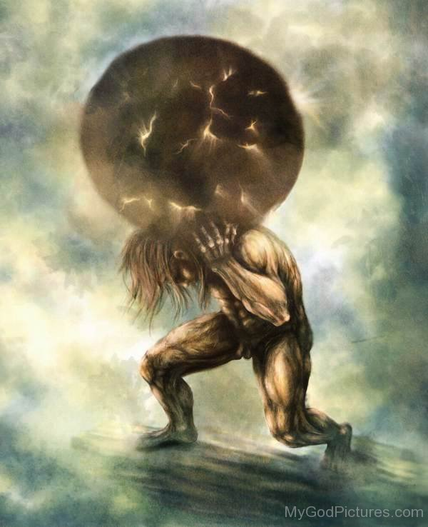 the myth of atlas the strongest titan in the greek mythology The greek mythology consists out of many stories and myths that can teach us a  lot  greek mythology definitely kept a much stronger significance in the world,  but the  in greek mythology, atlas was a titan and his appearance in roman.