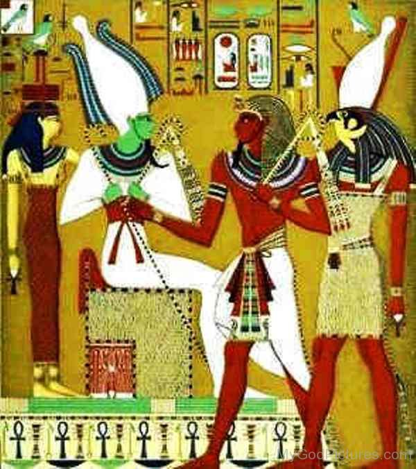Atumosirisisis And Horus God Pictures