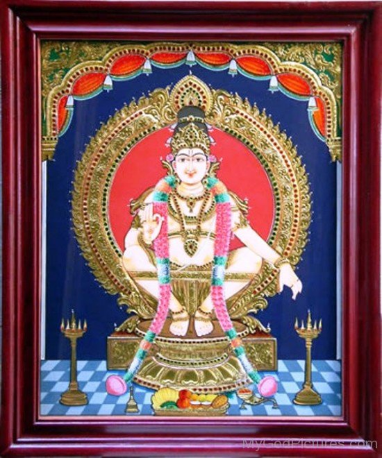 Ayyappan God Photo-lp902