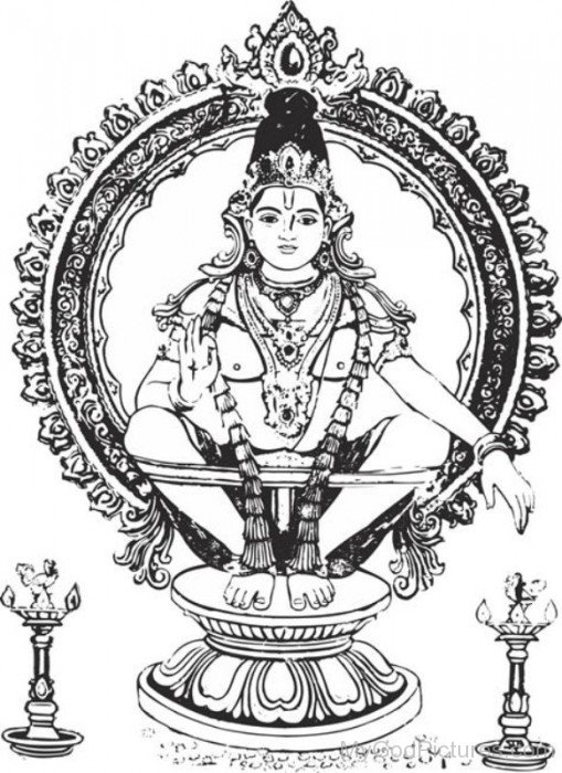 Ayyappan God Picture-lp903