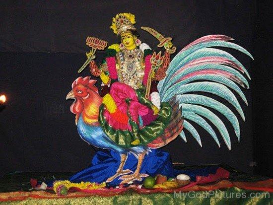 Bahuchara Goddess Image-xc101
