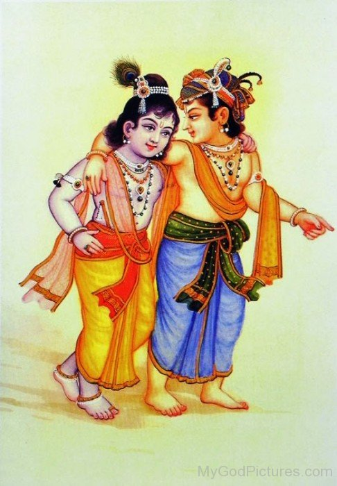 Balarama With Krishna-fb506