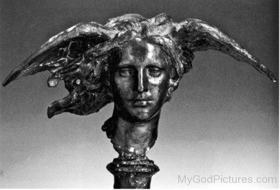 Black Statue Of Hypnos-vf401