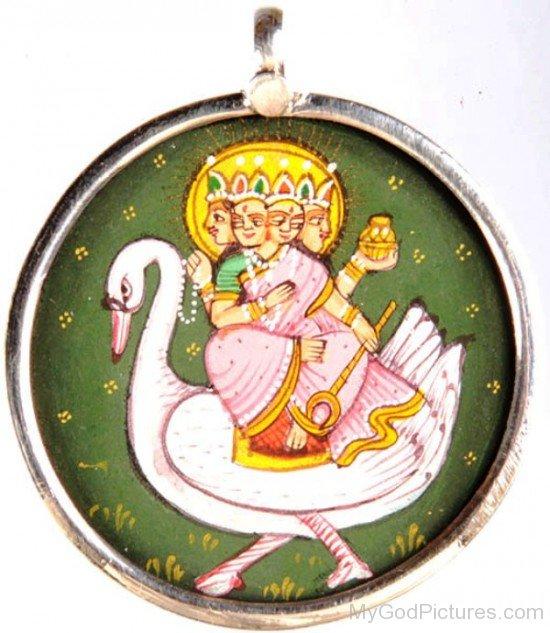 Brahmani Goddess Pendant-hj61