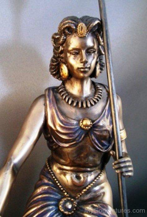 Bronze Statue Of Demeter-re701