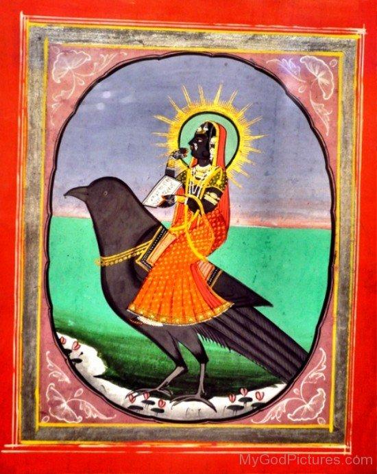 Dhumavati Painting-cb706