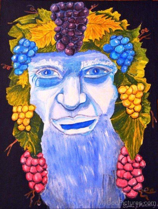 Dionysus Painting-wd303