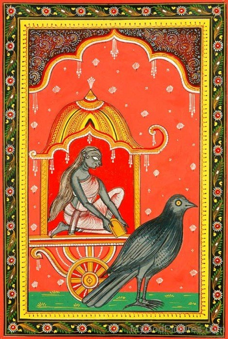 Frame Image Of Dhumavati-cb709