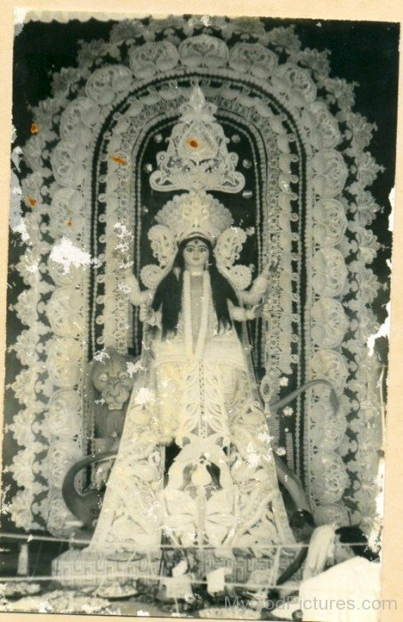 Frame Image Of  Goddess Jagaddhatri-ed21