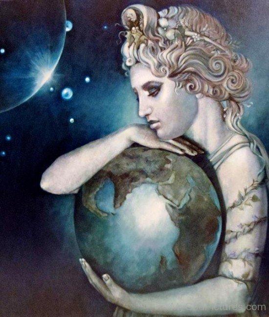 Gaia Earth Goddess-fj202