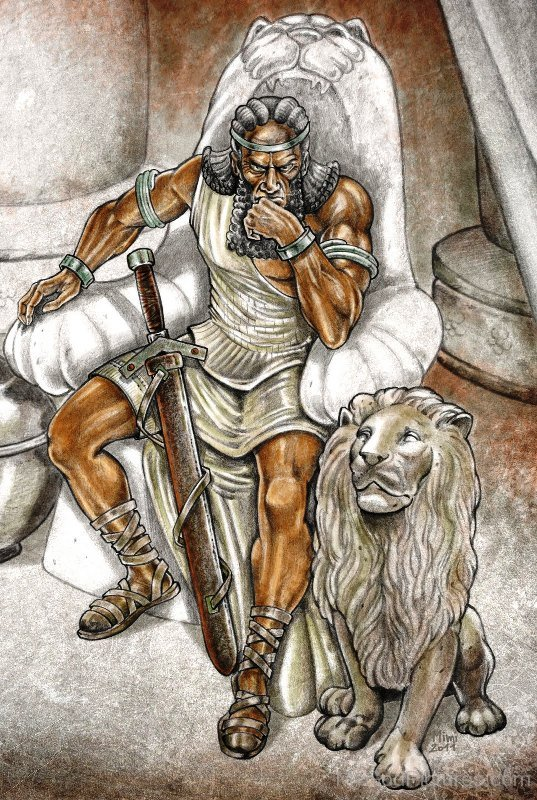 gilgamesh and the bull of heaven essay Start studying epic of gilgamesh questions: (final) learn vocabulary, terms, and more with flashcards,  enkidu and gilgamesh killed the bull of heaven.