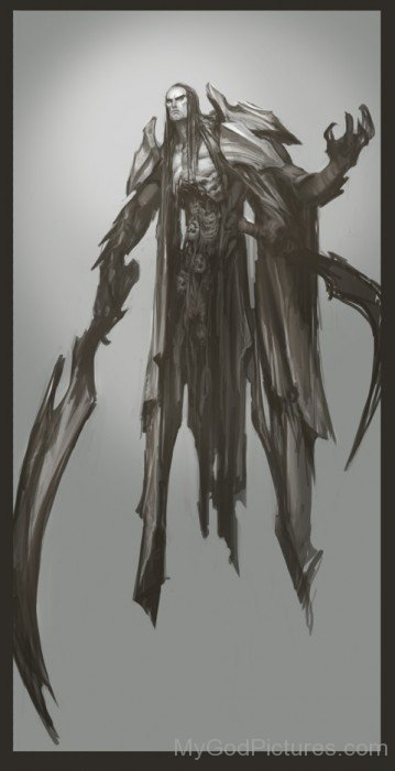 God Of Death Thanatos