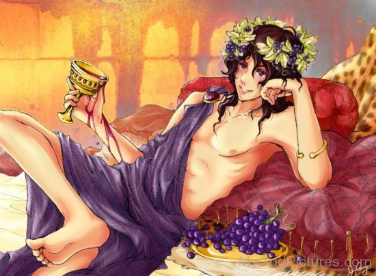 God Of Wine Dionysus-wd309