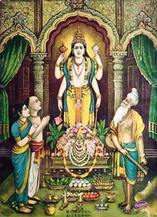 God Satyanarayana Picture-ws203