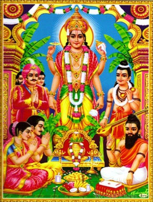 God Satyanarayana-ws204