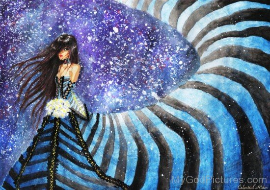 Goddess Asteria Painting