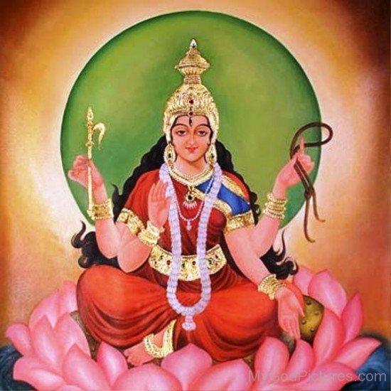 Goddess Bhuvaneshvari Image-re806