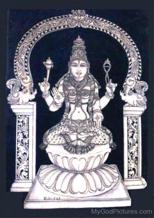 Goddess Bhuvaneshvari Photo-re807