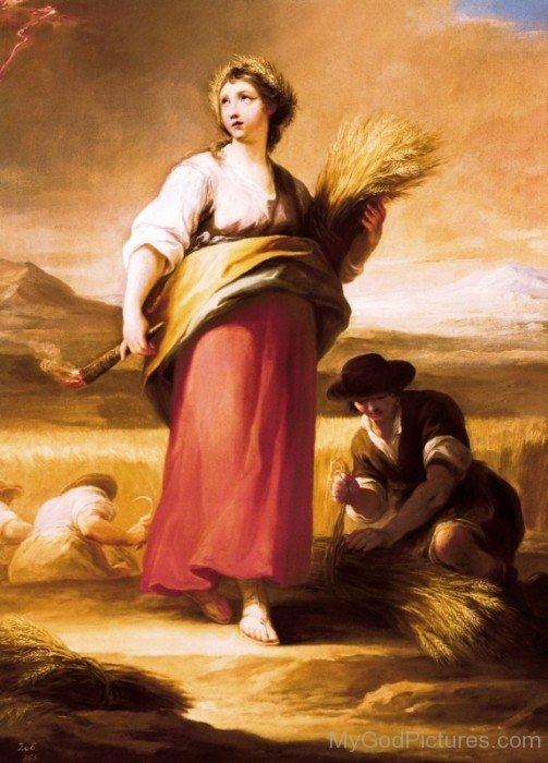 Goddess Ceres Image-bm904